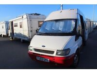 2002 Ford Transit LWB Campervan *Current MOT*