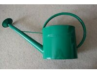 large green metal retro brand new watering can £10