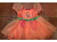 Halloween Pumpkin Dress 1-2yrs