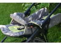 Jane Solo pram 3-in-1 including pushchair and car seat