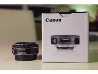 Canon EF-S 24mm f/2.8 + Hova Filter