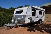 "2011 Concept Ascot 19'6"" Triple Bunk Family Caravan Valentine Lake Macquarie Area Preview"