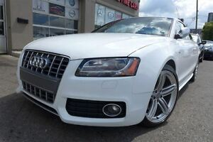 2011 Audi S5 4.2 Premium + Navigation *White on Red*