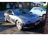 Mazda RX8, Grey, Low milage, 1 months MOT, £1700 0N0