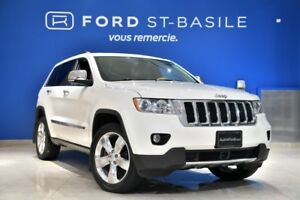 2012 Jeep Grand Cherokee OVERLAND TOIT PANO - CUIR - NAVIGATION