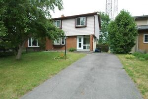 NEPEAN - 4 Bedroom Semi-Detached  – Available August 1st