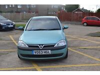Vauxhall Corsa 1.2 Elegance (53 plate) 3dr, low mileage