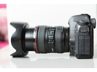 Canon 5D MkII + Canon 24-105 f4 IS (28000 shutter count) Mk2