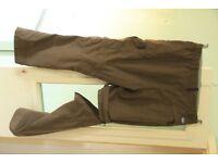 ladies green Berghaus trouser/shorts