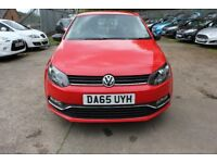 Volkswagen Polo 1.0 TSI BlueMotion Tech S (s/s) 5 dr 12MONTHS WARRANTY Parts & Labour