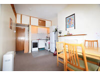 Spacious two double bedroom flat on the 2nd floor of this period building.