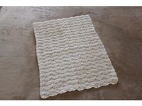 Brand New Babies Handmade Crocheted Security Blanket