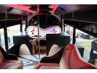 16-SEAT RETRO PARTY BUS/LIMO BUS FOR SALE