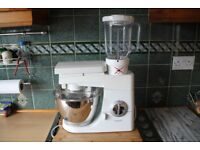 kenwood chef mixer/blender with liquidiser