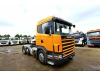 2003 53 PLATE SCANIA 124L 420 6X2 TRACTOR UNIT TRAILER TIPPING TRAILER DAF VOLVO FH TIPPER MAN IVECO