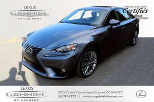 2014 Lexus IS PREMIUM PACKAGE BACKUP CAMERA + POWER MOONROOF + H