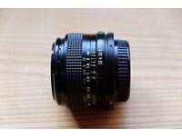 Canon FD 28mm f2.8 lens