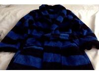 Boys stripped dressing gown 7-8 years