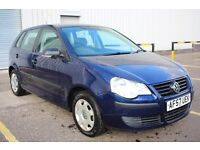 2007 57 Volkswagen Polo E70 1.2 5dr,56000 miles,FSH,Timing chain engine,2 keys