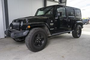 2012 Jeep Wrangler Unlimited Call of Duty II ** Sièges chauffant