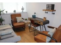 Therapy/Counselling/Coaching room to rent in Walkern (near Stevenage), Hertfordshire.