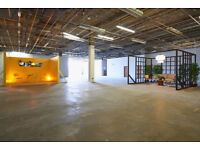 Flexible Office / Workshop / Studio / Event Space Available