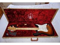 Fender Stratocaster Standard 60th Anniversary USA made.