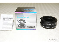 MEIKE Automatic Extension Tube Set MK-C-AF3B for Canon Micro DSLR - 10mm & 16mm