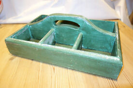 French, solid pine, garden trug