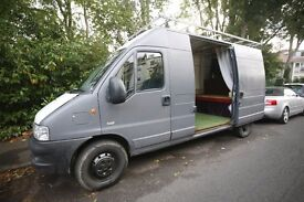 Peugoet Boxer LWB, Hi Roof, converted inside, strong and reliable drive