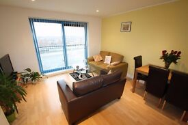 1 bedroom furnished flat by Royal Victoria Docks E16, short walk to DLR, opposite river & cable cars