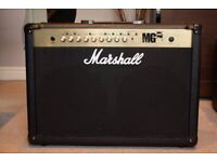 MARSHALL MG100FX Guitar Amplifier 2x12 COMBO Twin Speaker + footswitch