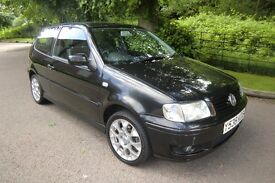 VOLKSWAGEN POLO 1.4 COLOUR CONCEPT 3DR HATCHBACK PETROL CAR WITH NEW MOT