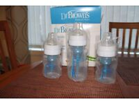 Dr. Brown Natural Flow Bottles, Gift Set, Starter Kit