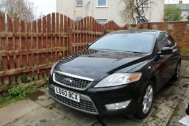 2010 Ford Mondeo Titanium MK4, 2.0 TDCi Black, for sale
