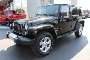 2015 Jeep Wrangler Unlimited Sahara (Hardtop - GPS Naviagtion)