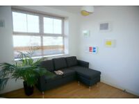 Modern, bright and spacious 1-bedroom furnished top floor apartment in Central Reading from January