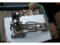 Premier 252 single compression bass drum pedal - England '80s - later version - Ludwig Speed King