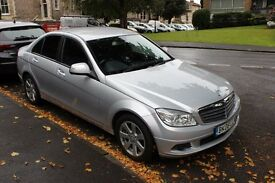 2008 MERCEDES C220 CDI SE SALOON AUTOMATIC 2.1 DIESEL LOW MILEAGE 77000, new MOT and new service