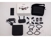DJI Spark Drone Fly More Combo - Carry case, 2 x Batteries, SD Card and more