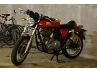 Royal Enfield Continental GT 2015 - Red Cafe Racer 535cc - Great Condition!