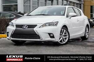 2016 Lexus CT 200h HYBRID, TOURING, SUNROOF, LED LIGHTS, 17'' WE
