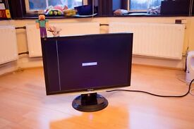 """22"""" ViewSonic VX2240W Computer Monitor (used condition)"""