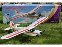Hobbyzone Mini Super Cub ready-to-fly remote controlled r/c plane, used for sale  Craigentinny, Edinburgh
