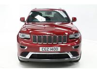 Jeep Grand Cherokee V6 CRD SUMMIT (red) 2016-02-29