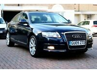 AUDI A6 2.0 TDI SE AUTOMATIC 4DR SALOON HPI CLEAR LEATHER SATNAV 2 KEYS EXCELLENT CONDITION