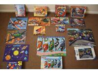 Ravensburger Puzzles Age 5-6+. 70-100 pieces. Disney Planes, Cars, Finding Nemo