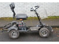 Electric golf cart , forward speed 12.5km/hr 24volt 600w motor with trailer