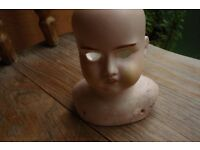 Antique Bisque Dolls Head----Germany