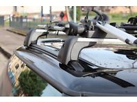 Genuine Mini Roof bars for F56 Mini Hatch with factory fitted roof rails